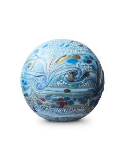 Elan-line 1,5 liter urn sea blue