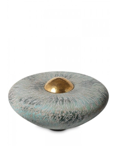 Balance-line keramiek Disk Large Ocean Blue