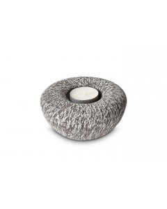 Balance line keramiek Tealight Carbon Grey