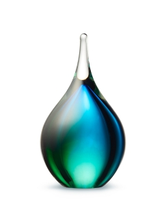 Druppel small blue-green